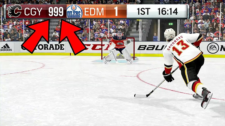 WHAT HAPPENS IF YOU EXCEED THE SCORE LIMIT IN NHL 19?