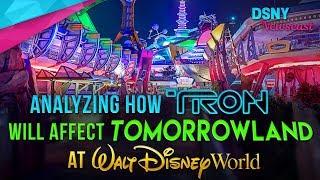Analyzing How TRON Will Affect Tomorrowland at Walt Disney World - Disney News - 8/20/17