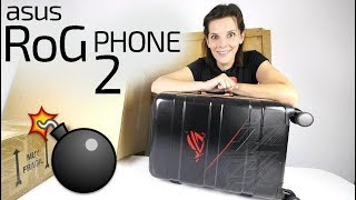 Asus RoG Phone 2 -ALUCINANTES accesorios-