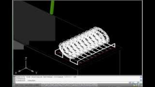 Free Autocad Tutorial - Autolisp To Build A 3d Show House 6/18 - For Autocad All Version