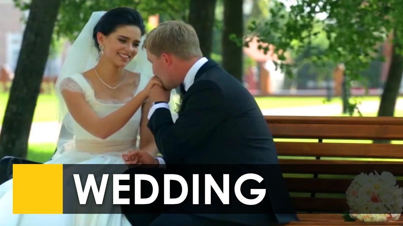 Свадебное красивое видео