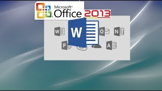 Word 2013 Tutorial   Part 1 For Professionals And Students