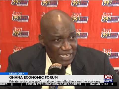 Ghana Economic Forum - Business News on Joy News (11-6-15)