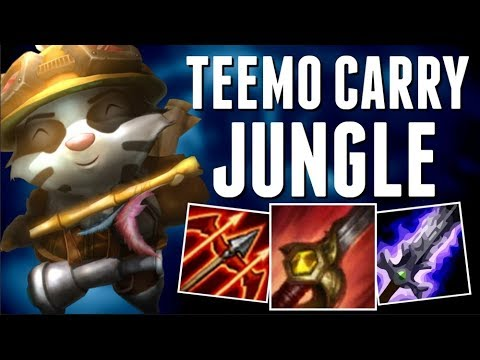 TEEMO JUNGLE IN SEASON 8 IS ACTUALLY REALLY GOOD?!