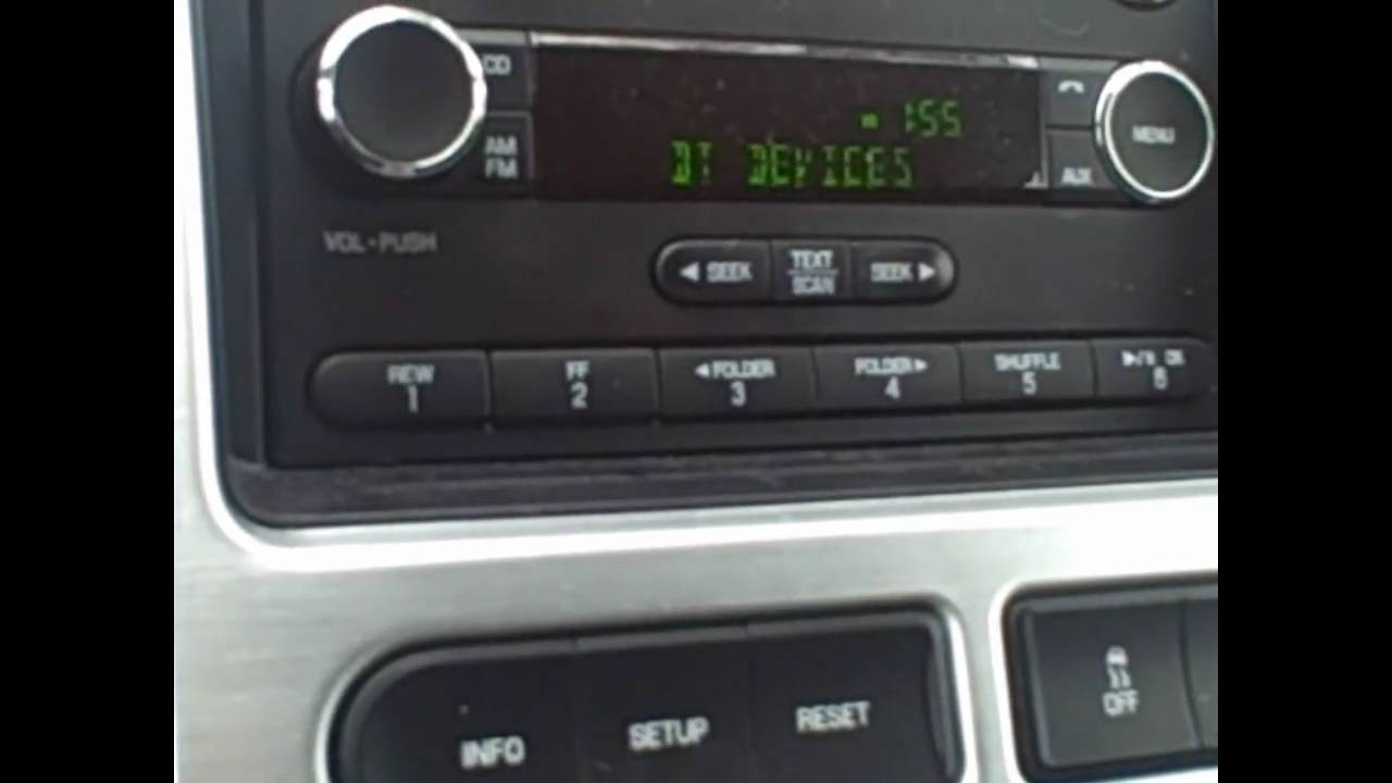 How To Synch Your Phone To Your Ford Edge Youtube