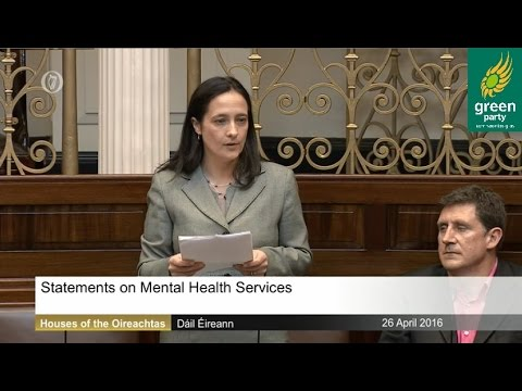 Mental Health speech in Dáil - 26 04 2016 - YouTube