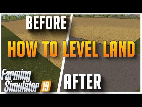 How to Level Ground and Terraform | Farming Simulator 2019