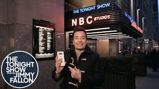 Jimmy Kicks Off a Tonight Show Episode Filmed Entirely on the Samsung Galaxy S10+ Phone