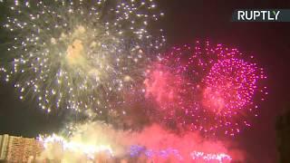 Международный фестиваль фейерверков «Ростех» — LIVE