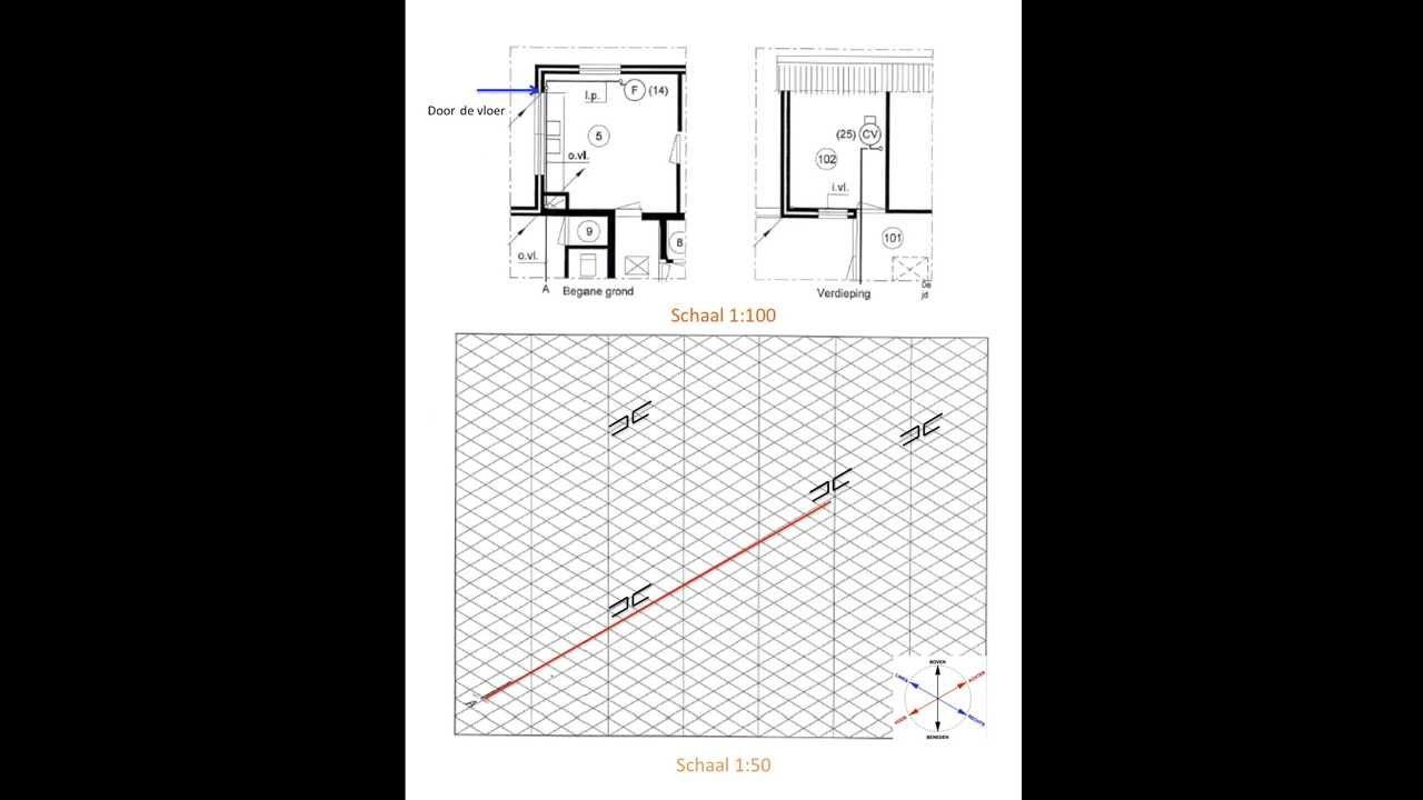 Isometrisch Tekenen Gasleiding