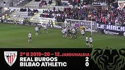 ⚽️ Resumen I J12. 2ªDiv. B 2019-20 I Burgos CF 2 - 0 Bilbao Athletic I Laburpena