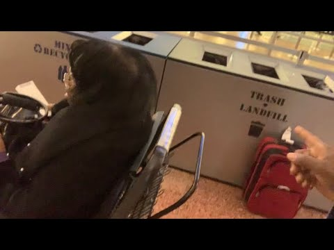 Red Bag Left Out In Open At Las Vegas McCarran Airport - We Reported It