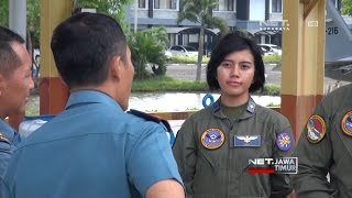 Video NET. JATIM - SOSOK WANITA CANTIK JADI PILOT PESAWAT TEMPUR download MP3, 3GP, MP4, WEBM, AVI, FLV Mei 2018
