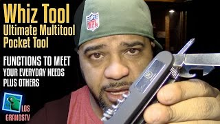 Whiz Tool - Ultimate Multitool Pocket Tool 🔪 : LGTV Review