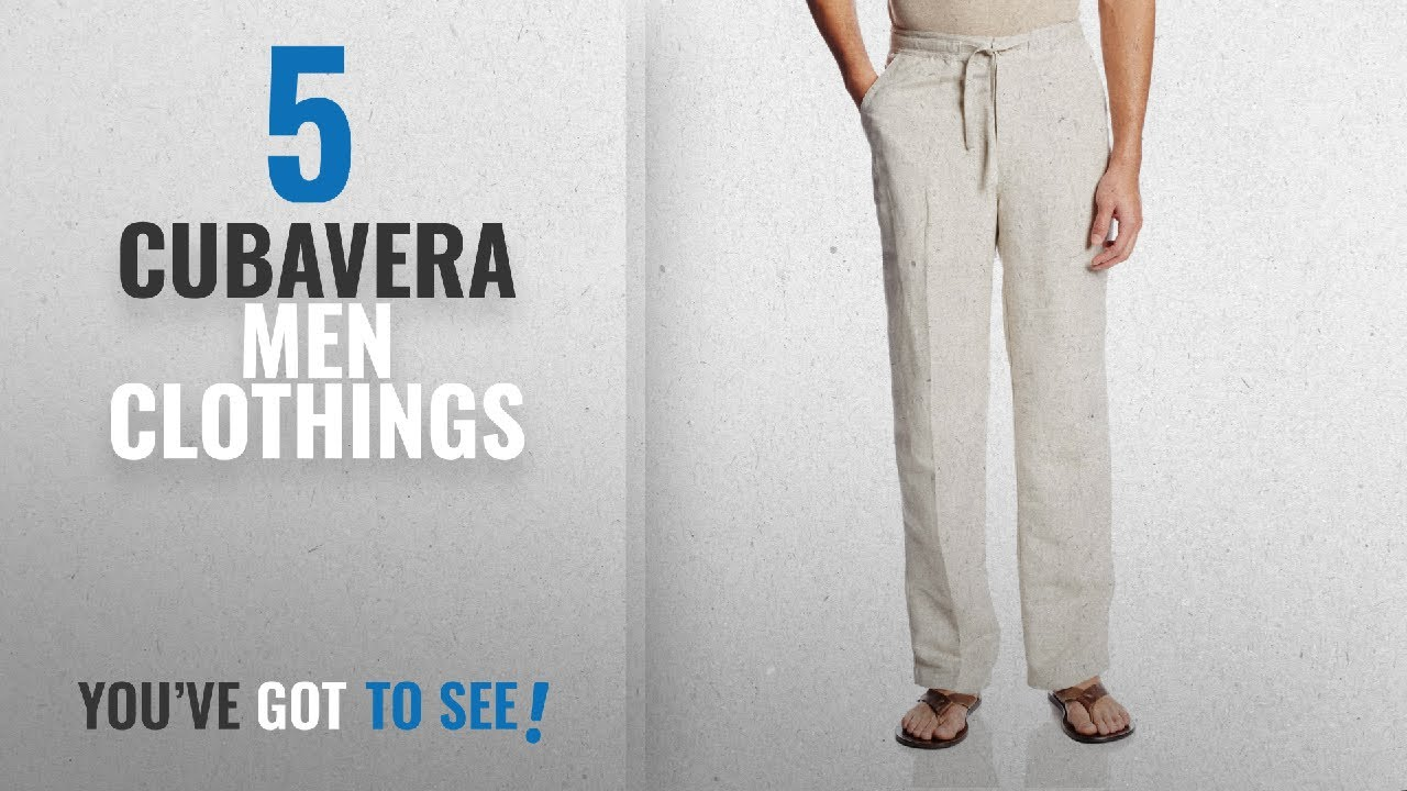 6ee40ad0e0 Top 10 Cubavera Men Clothings [ Winter 2018 ]: Drawstring Pant with ...