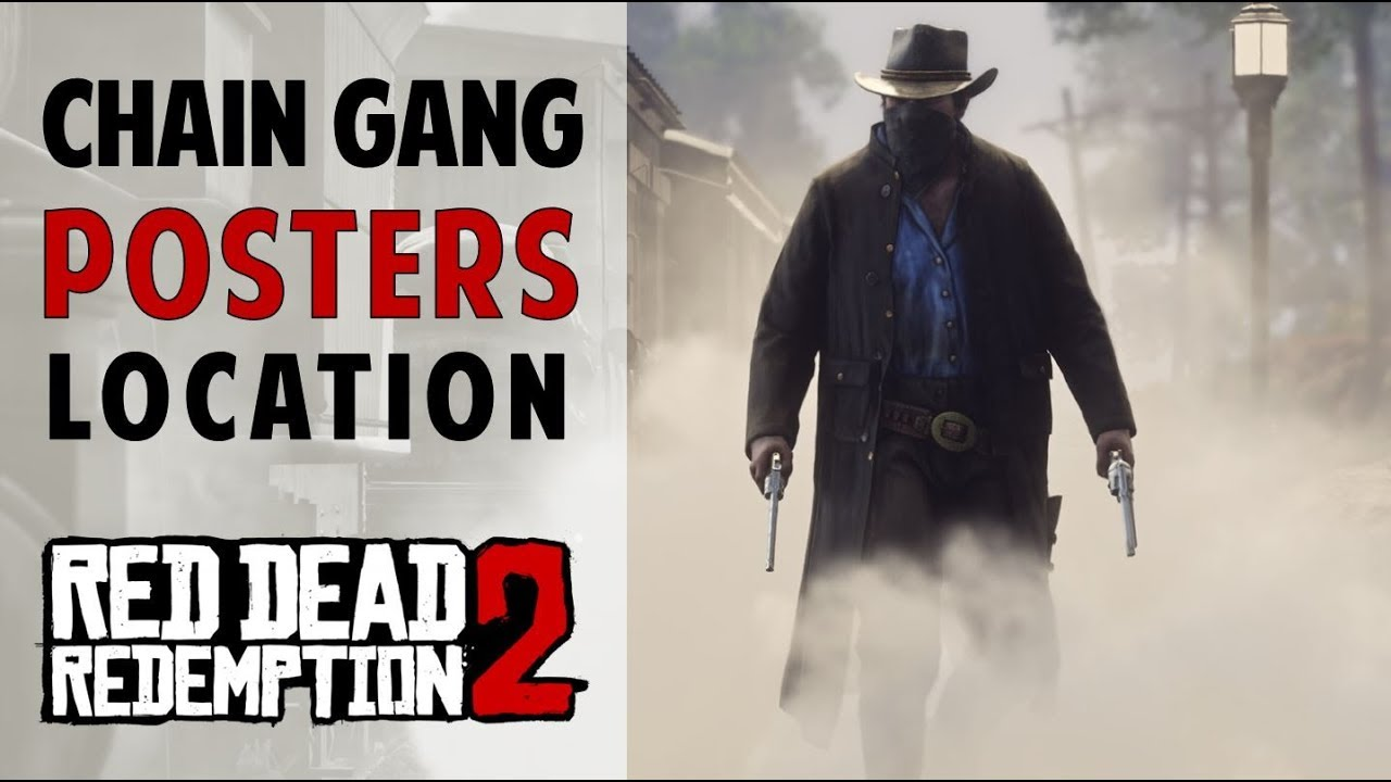 Chain Gang Posters Rdr2