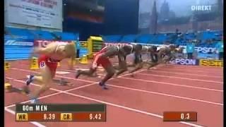 Легкая Атлетика, Андрей Епишин, Рекорд России на 60м
