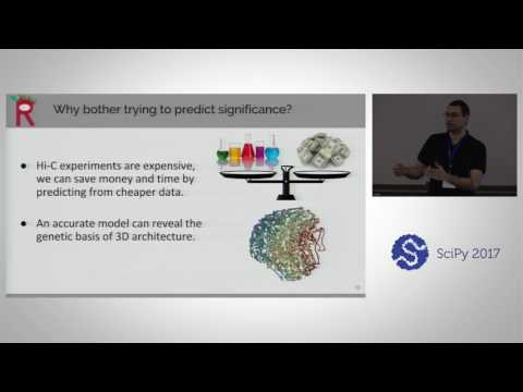 Rambutan - A Python Package for Predicting 3D Genome Architecture | SciPy 2017 | Jacob Schreiber