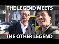 I met Robert Llewellyn from Fully Charged