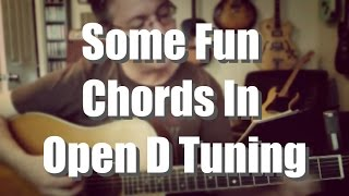 Some Fun Chords in Open D