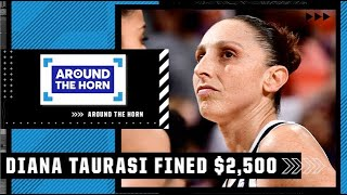 Reacting to Diana Taurasi being fined $2,500 for bumping official in Game 2 of the WNBA Finals | ATH