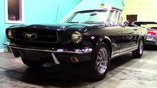 1965 Ford Mustang Convertible A Code 4 Speed