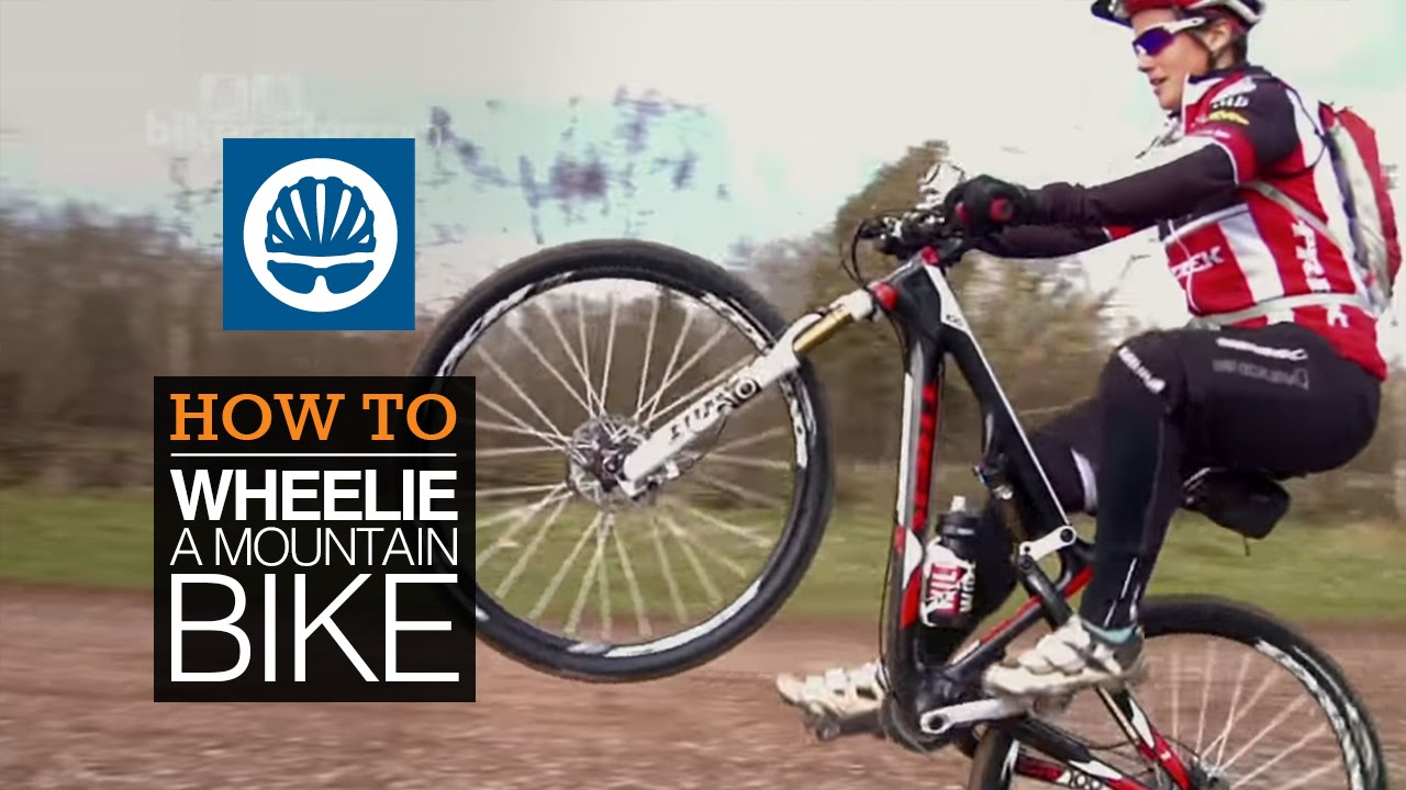 How To Wheelie A Mountain Bike With Tracy Moseley Youtube