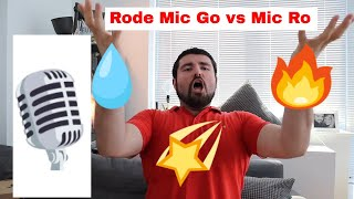 Rode Video Micro vs Rode Mic Go - Best Microphone Test on Youtube