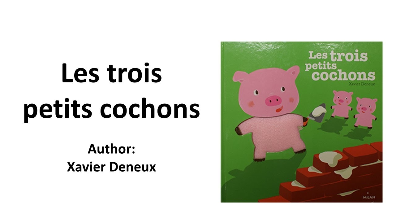 french children 39 s story les trois petits cochons youtube