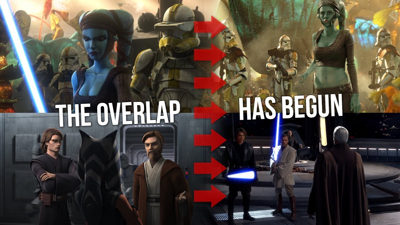 The Point Where The Clone Wars Overlaps With Revenge Of The Sith Youtube