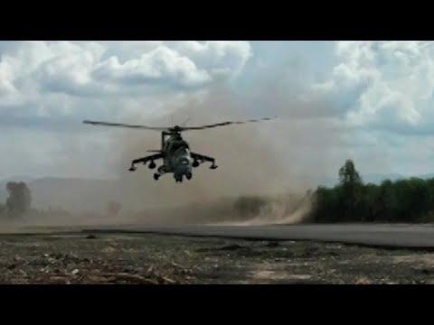 Российский вертолет Ми-24 сбили из ПЗРК в Армении, погибли 2 человека