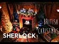 A Sherlocky British Christmas Makeover   Behind the Scenes