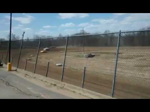 Uncle Fred On Opening Day At Butler Speedway