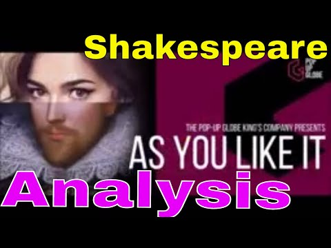 """Analysis of """"As You Like It"""" by William Shakespeare"""