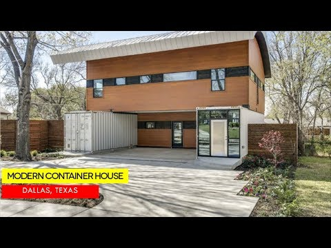 $730K Shipping Container Home in Midway Hollow, Dallas,Texas