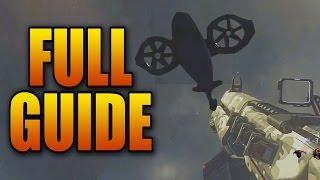 FULL Exo Zombies Main Escape Easter Egg Tutorial  Diamond Mk 25 Guide All Steps