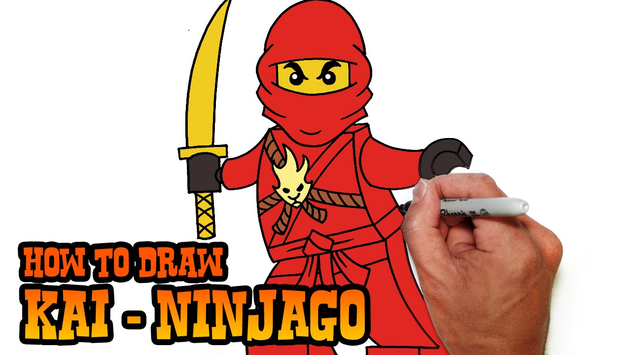 Uncategorized How To Draw Video how to draw kai ninjago video lesson youtube