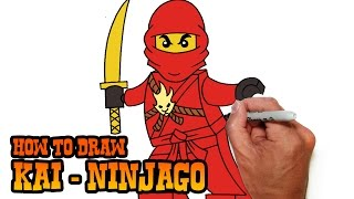 How to Draw Kai- Ninjago- Video Lesson(Learn how to draw Kai from Ninjago in this easy step by step video tutorial. All my lessons are narrated and drawn in real time. I carefully talk through each and ..., 2015-05-01T07:19:21.000Z)