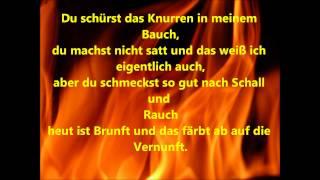 Jennifer Rostock Feuer lyrics