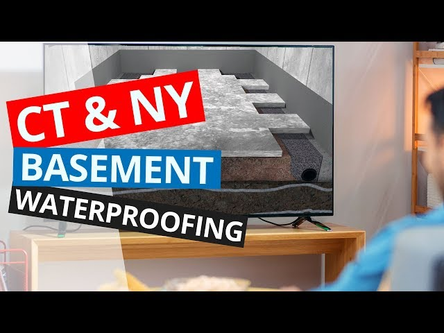 CT & NY Basement Waterproofing | No Gimmicks - No Nonsense