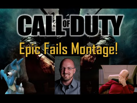 EPIC FAILS! - Call of Duty Fails Montage - YouTube