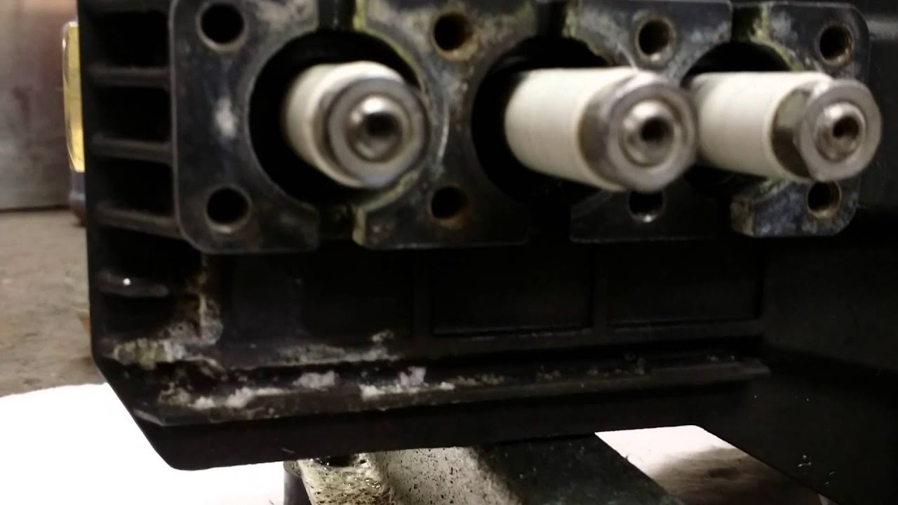 Pressure Washer Reviews >> Pump failure caused by water in the crankcase oil - YouTube