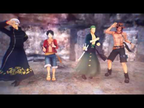 【MMD One piece】 ・killer lady・ (Luffy, Ace, Law, Zoro)