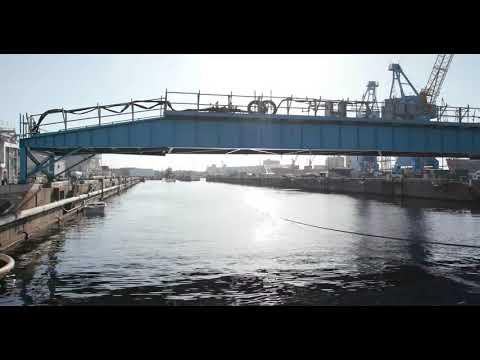 Timelapse: USS Pasadena Enters Dry Dock 3 at America's Shipyard