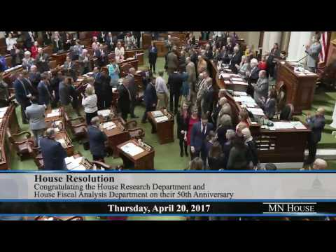 House recognizes nonpartisan Research and Fiscal departments for 50 years of service