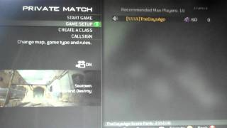 Didnt show up to thrid map. Dispute proof against Ah Boobaloo.