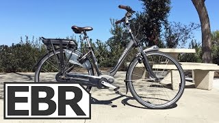 Gazelle Arroyo C8 HM Video Review - Comfortable, Quality Commuter E-Bike