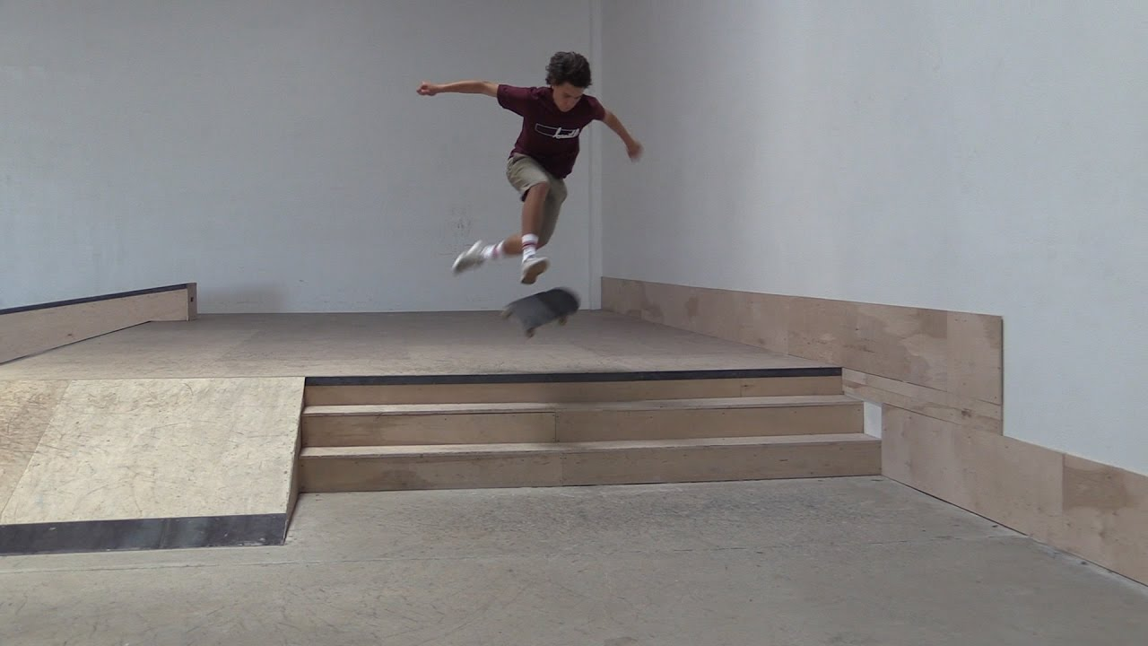 360 Flip The 3 Stair Live Skate Support Youtube
