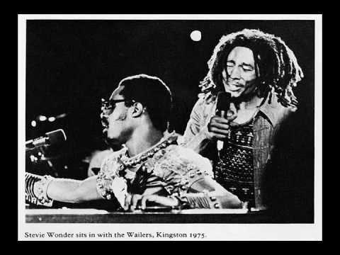 Stevie Wonder - Superstition f. Bob Marley (Live) (1975-10-04)