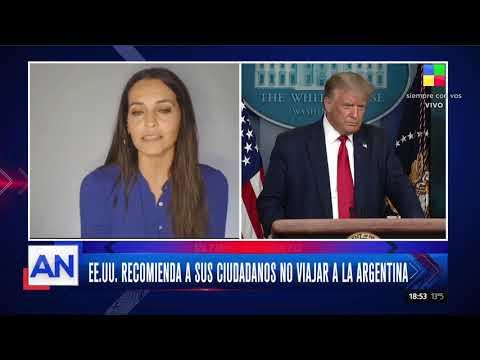 EE.UU. recomienda a sus ciudadanos no viajar a la Argentina